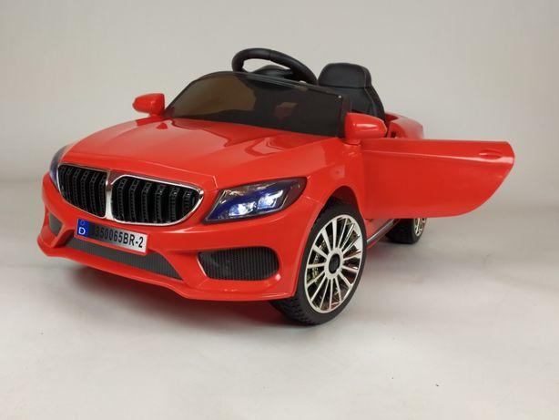 Auto na akumulator B1 EVA pilot skóra 2silniki 12v czerwony lub biały