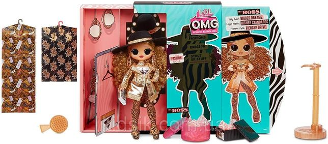 L.O.L. Surprise!O.M.G. 3 Серия Модная куколка Леди Босс с 20 сюрп.