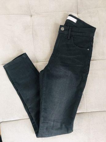 Nowe spodnie jeansy WRANGLER W26 L32 XS czarne rurki Skinny