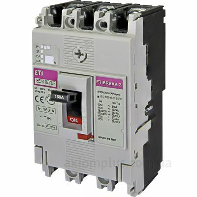 Автоматические выключатели от 80А до 400А