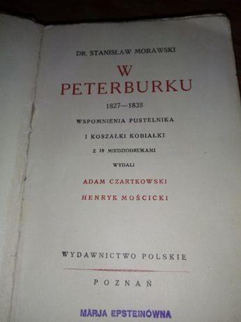 "Dr. Stanisław Morawski"" W Peterburku """