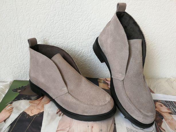 Loro Piana женские лоферы туфли ботинки 36,37,38,39,40, 41 замша Пиана