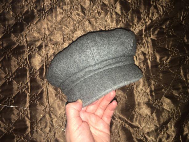 кепка кепи шапка серая
