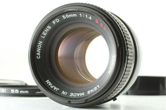 Lente Canon FD 50mm f/1.4 S.S.C. - Como Nova