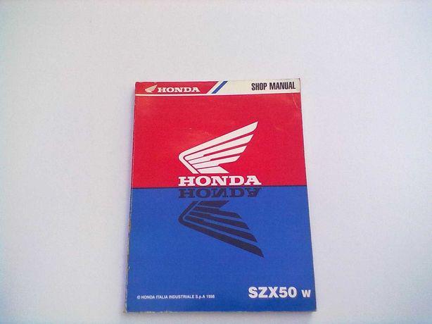 Manual Técnico Oficial Honda SZX 50 w