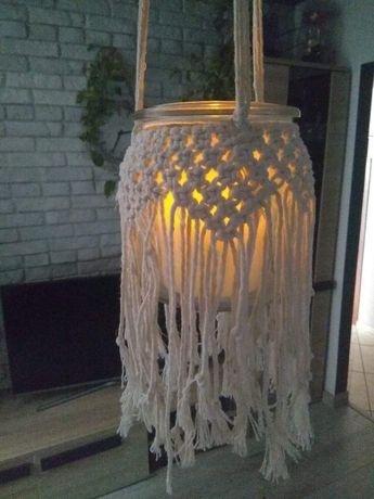 Lampion makrama