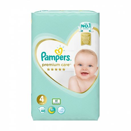 Памперсы Pampers premium care 4 9-14 кг