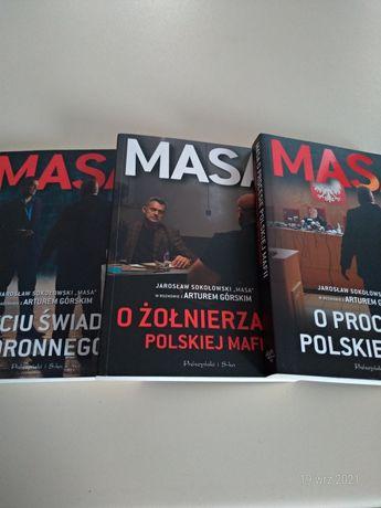 """Zestaw książek """"Masa""""Jaroslaw Sokołowski"""