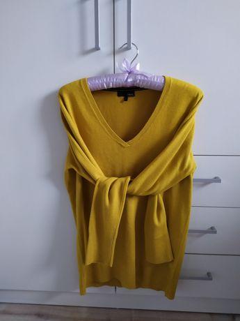 Musztardowy sweterek NEXT