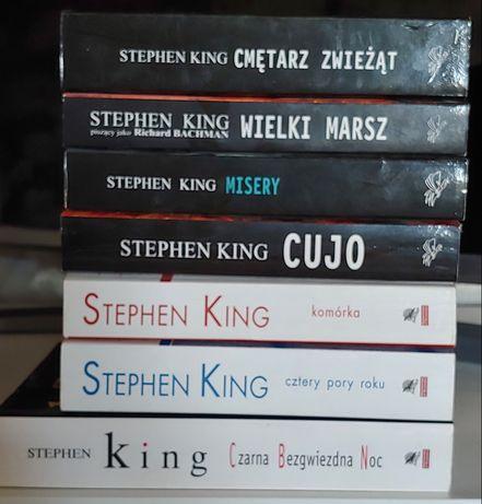 Sprzedam 7 książek STEPHEN KING