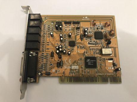 Звуковая карта с FM-радио MediaForte Quad X-TREME SF256-PCP-R