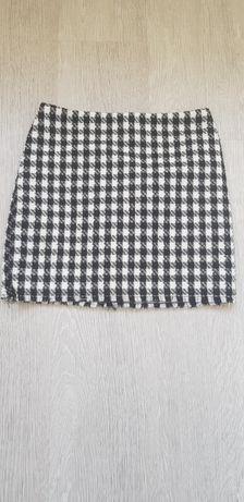 Spódniczka mini krata H&M