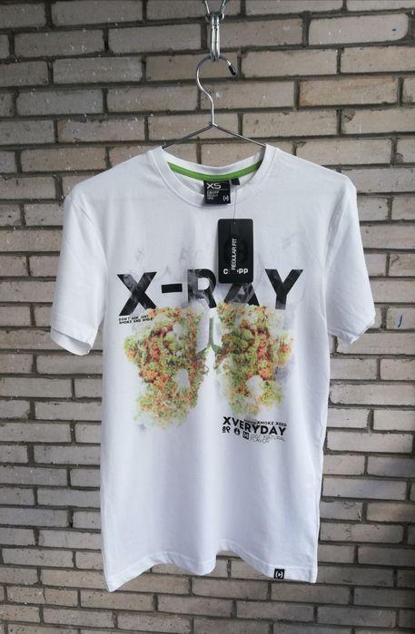 Nowa koszulka męska X-RAY marihuana CROPP rozmiar XS Płock - image 1