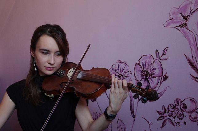 Skrzypaczka=wokalistka na ślub: skrzypce, śpiew i organy w 1 osobie