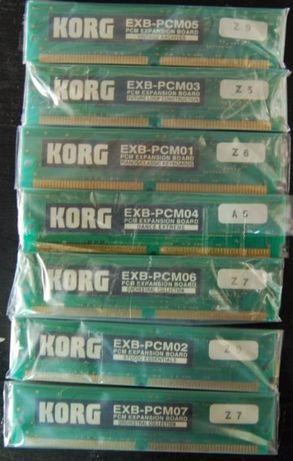 Placas de Expansão Korg