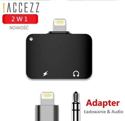Adapter przejściówka iPhone 6 7 8 X 11 Lightning Jack