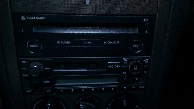 Rádio e leitor cd original VW