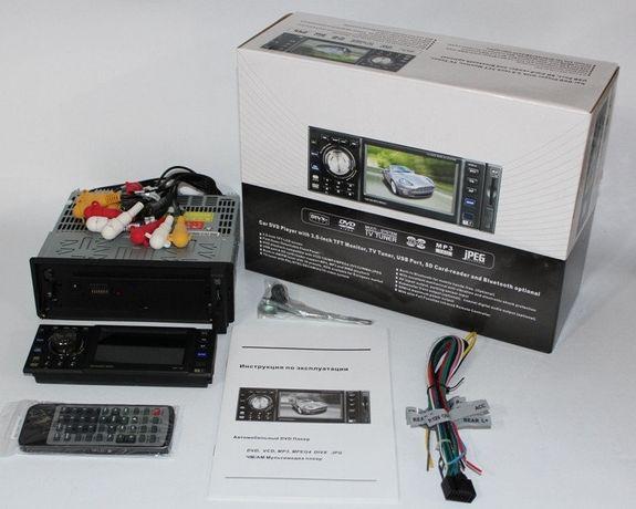 DVDмагнитола с экраном 3.5 дюйма и DVD приводом (peoneer 163)