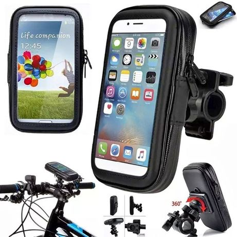 Uchwyt z etui na TELEFON na rower motocykl