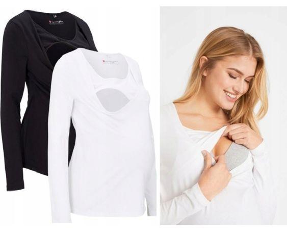 NOWA bawełniana bluzka ciążowa do karmienia