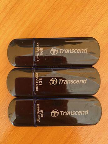 Три флешки нові по 8 GB