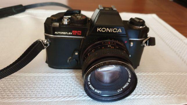 Máquina Fotográfica Konica Autoreflex TC