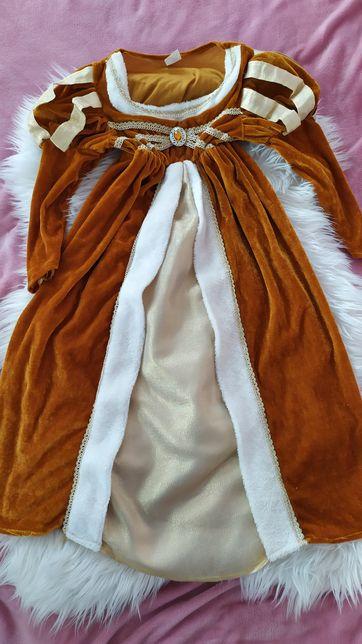 Suknia ksieziczka krolowa sultanka 110-116/120