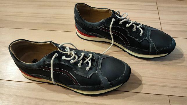 Skórzane buty Pan Men's Collection