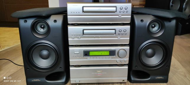 Wieza DENON UPO-99 super stan kolumny Sony