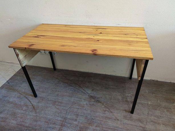 Столы для кухни офиса кафе лофт из масива дерева