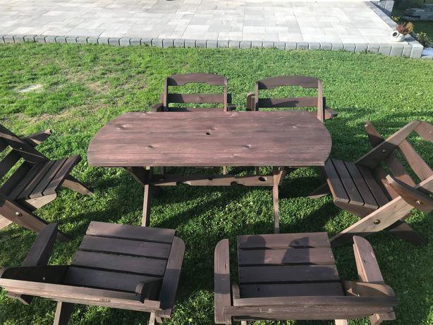Zestaw krzeseł ogrodowych