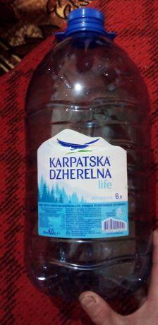 Баклашки 5 литровые из по воды
