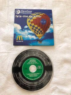 CD (Single) Fala Me de Amor - Santos e Pecadores