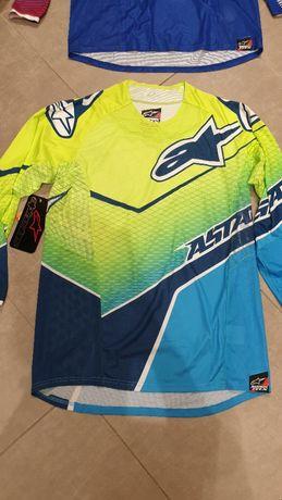 Okazja!!!Koszulki Alpinestars Techstar Venom - M kolor 577 Fluo