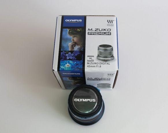 Olimpus Obiektyw M.Zuiko Digital 45mm F1.8