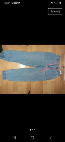 Spodnie jeansowe Jogger Bershka S