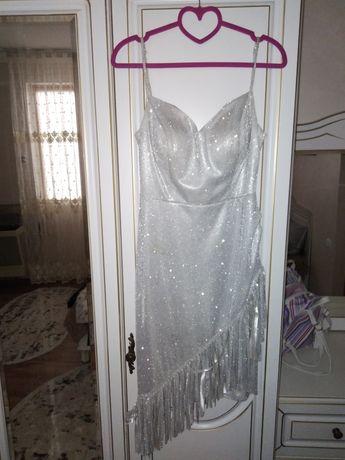 Платье люрекс 36р