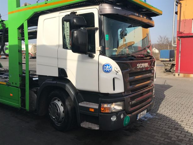 Scania P380 Autotransporter Aksyolu