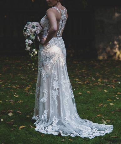 San St. Patrick Pronovias AMIRA 2019 suknia ślubna rybka syrenka 40 38