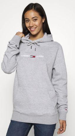 Оригинал! Худи толстовка Tommy Hilfiger logo fleece hoodie  р.S