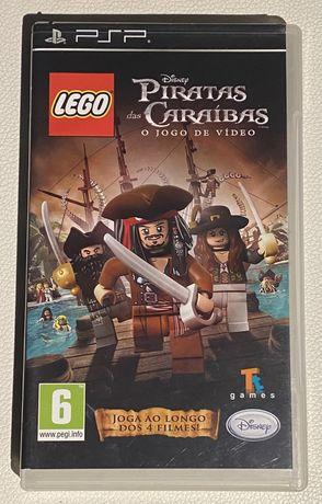 """Jogo para Psp """"Piratas das Caraíbas"""""""