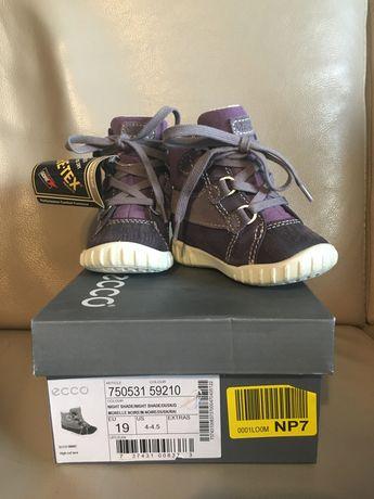 Ecco buty kozaki zimowe Gore-Tex dziewczęce nowe z metką r. 19