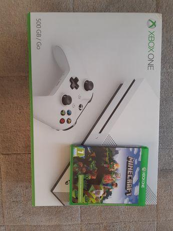 XBOX ONE S + Minecraft stan idealny