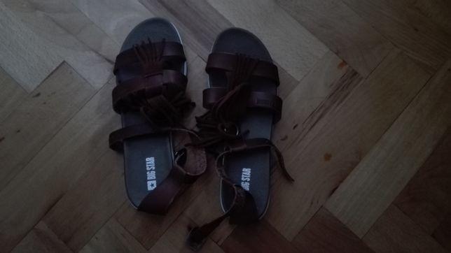 Sandały skorzane Big Star nowe
