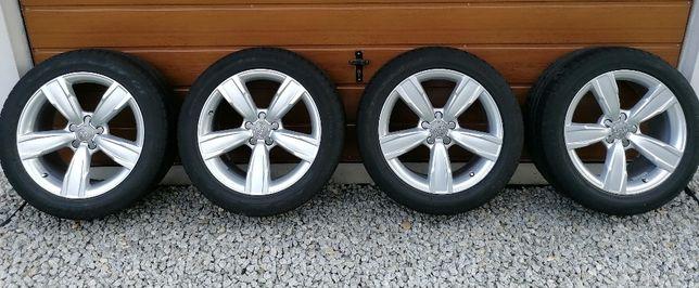 """Koła felgi z oponami aluminiowe oryginalne Audi 18"""" 5x112 ET26"""
