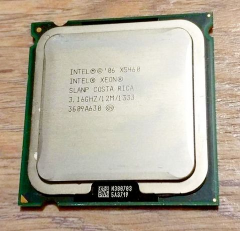 Intel Xeon X5460 3.16ghz (Socket 775) Lga Процессор