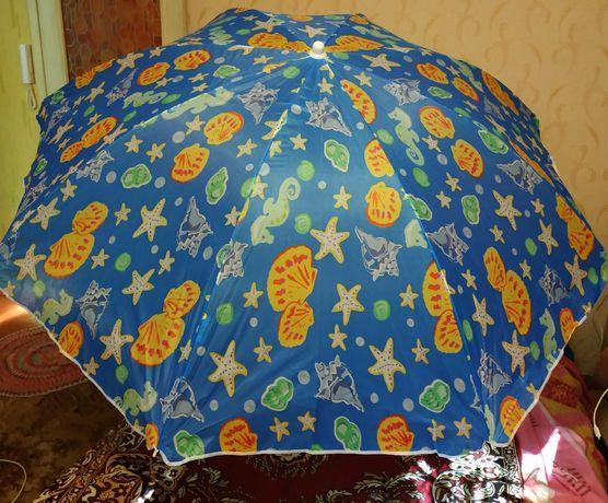 Зонт пляжный, зонт на пляж