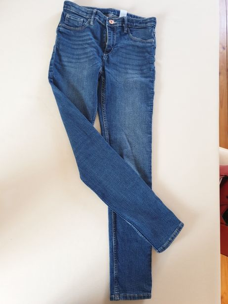 Jeansy H&M 152 skinny fit
