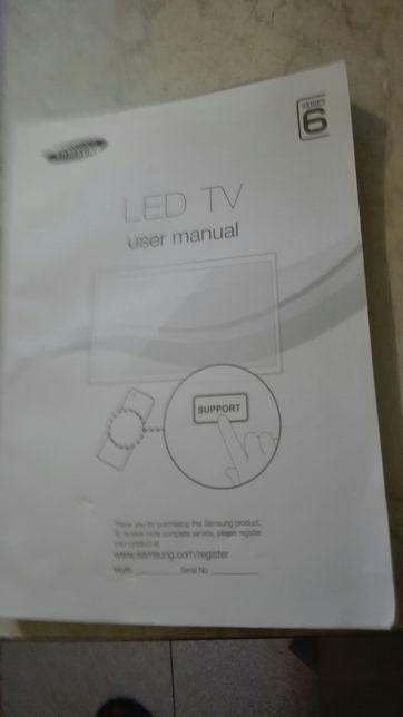 LED TV Samsung user manual instrukcja obslugi telewizora