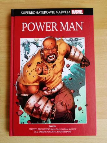 Superbohaterowie Marvela - POWER MAN - kolekcja Hachette, tom 8